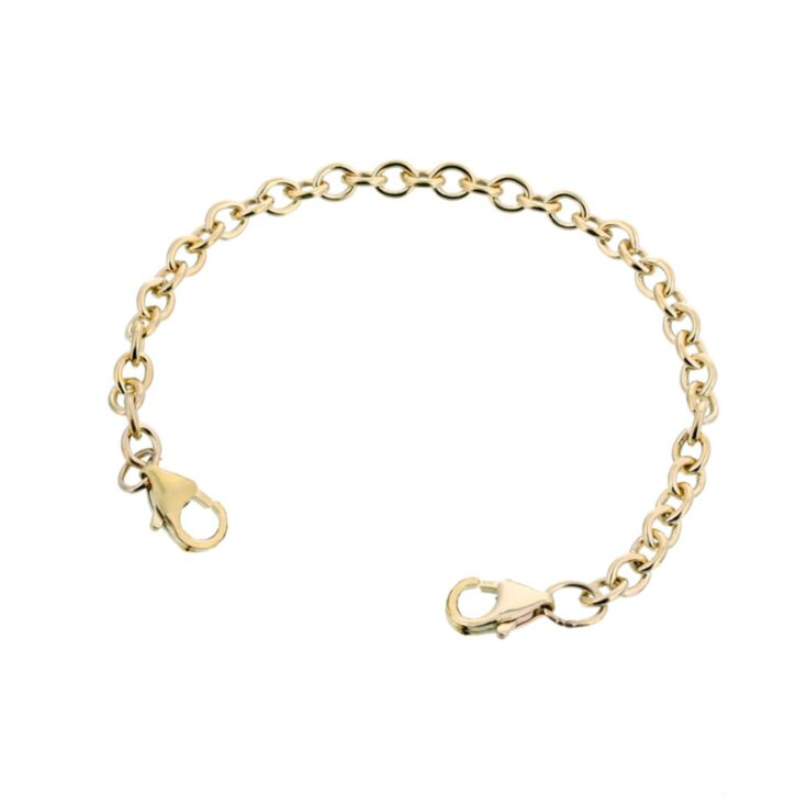 10ct Rolled Gold Mingle Cable Band