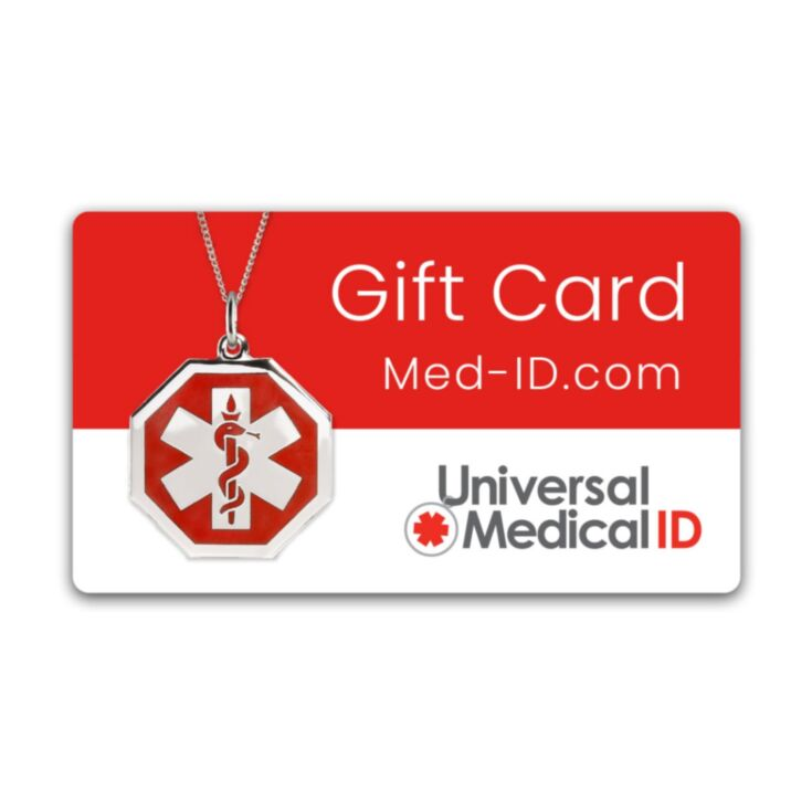 Universal Medical ID Gift Card