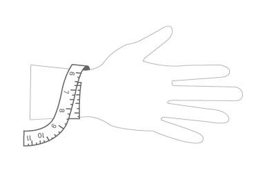 UMID Bracelet Size Guide